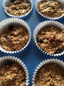 Havermout muffinsbeslag