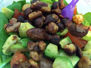 Tara Stiles Spinazie salade