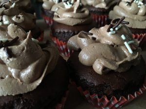 Vegan Chocolade cupcakes