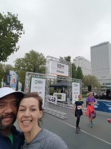 Finish Rotterdam URban Trail 2017
